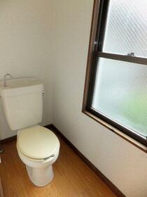 ガストハウス府中 205号室のトイレ