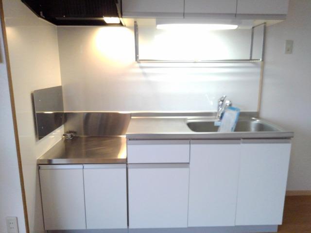 スカイハイツ藤橋 03030号室のキッチン