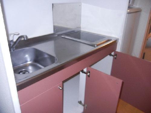 レオパレスグランズ浄水 103号室のキッチン