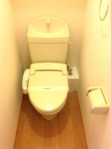 レオパレスディン 205号室のトイレ