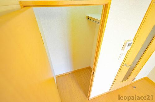 レオパレスディン 205号室の収納