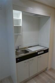 ハーミットクラブハウス二子新地(仮) 201号室のキッチン