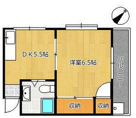 下北沢ハウス 406号室の間取り