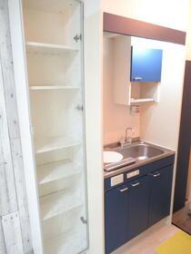 サンリバーハイム 206号室のキッチン