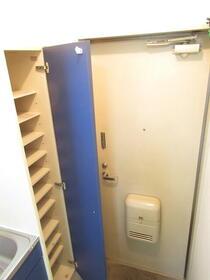サンリバーハイム 206号室の玄関