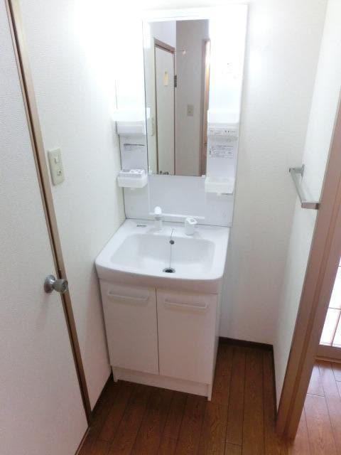 メゾンシティコート A棟 01020号室の洗面所
