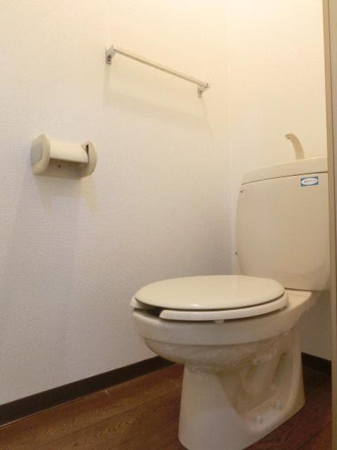 メゾンシティコート A棟 01020号室のトイレ