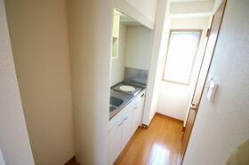 ブルースカイタワー 401号室のキッチン