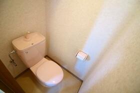 ブルースカイタワー 401号室のトイレ