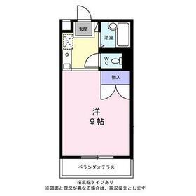 おゆみ野ソレイユ・104号室の間取り