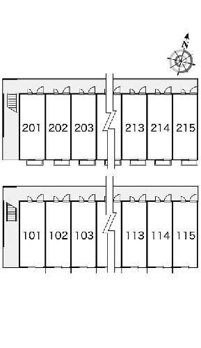 レオパレス森田 210号室のその他