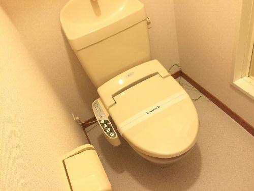 レオパレス森田 210号室のトイレ