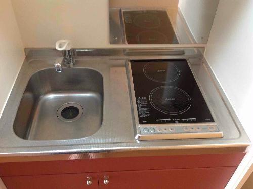 レオパレス森田 210号室のキッチン