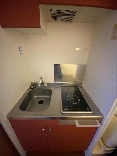 レオパレスE・アルシオネ 201号室のキッチン