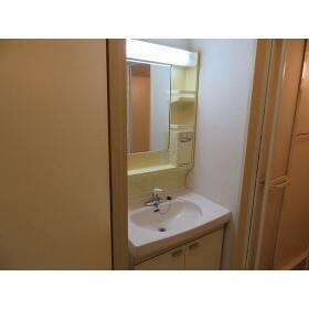 スリーゼ西ヶ丘 0102号室の洗面所