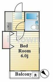 Villa三ノ輪B・105号室の間取り