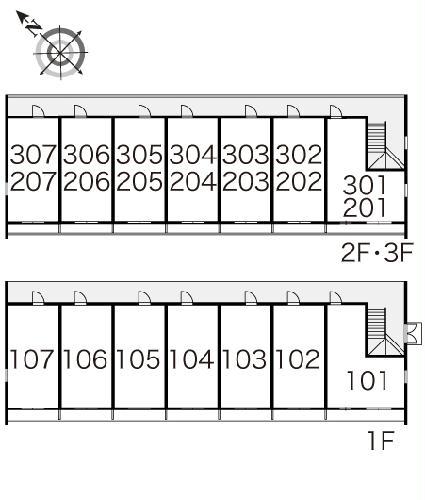 レオパレス翔 305号室のその他