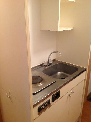 レオパレス翔 305号室のキッチン