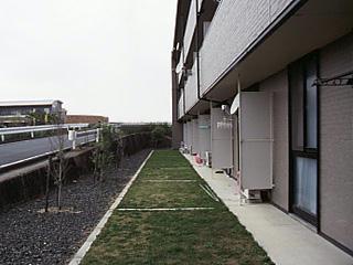 レオパレス翔 305号室のバルコニー