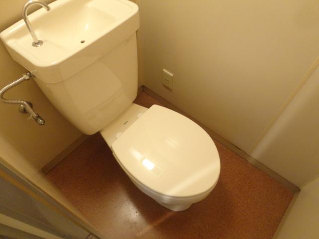 ハイツ三ノ宮 205号室のトイレ