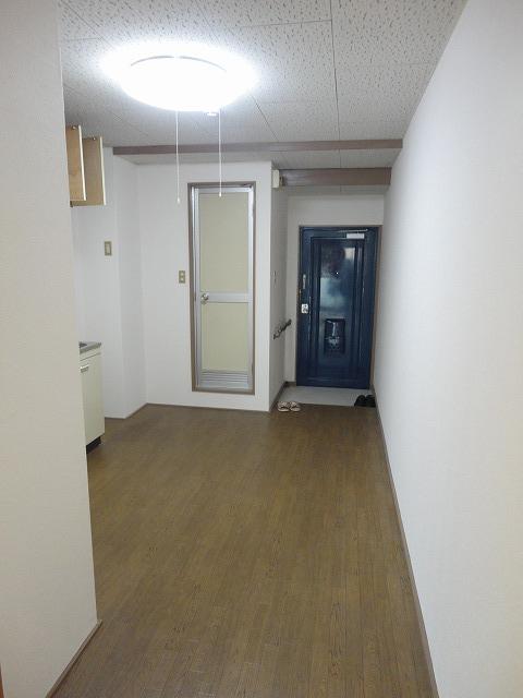 レジデンス桂 206号室のバルコニー