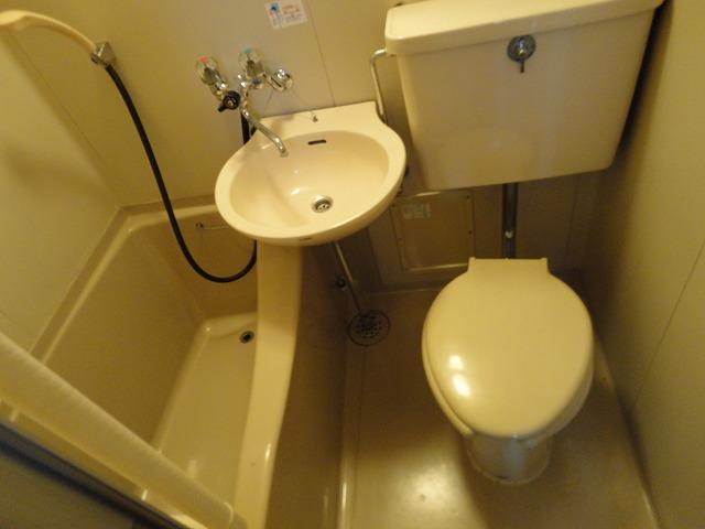 レジデンス桂 206号室の風呂