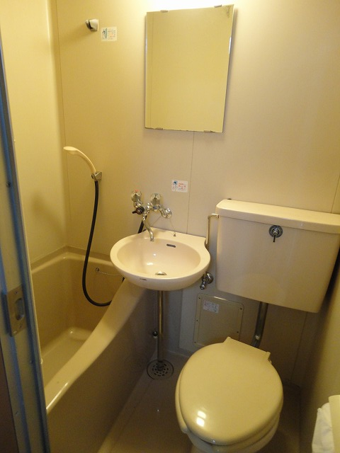 レジデンス桂 206号室の洗面所
