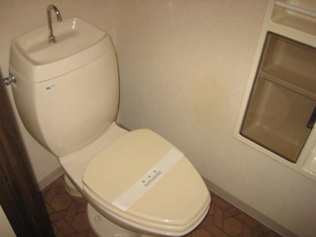 パセンテラ洛西 201号室のトイレ