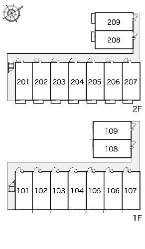 レオパレス八原 105号室のその他