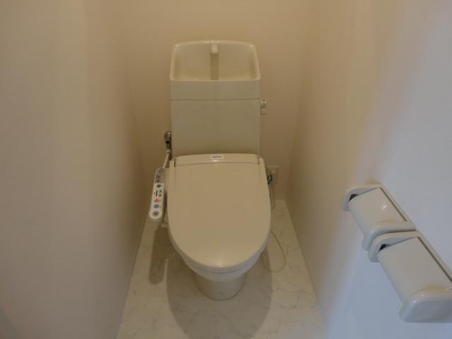 ブレスドY&M 205号室のトイレ