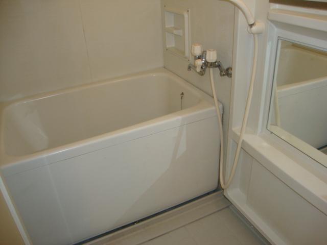 ツインハイツB 203号室の風呂