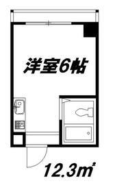 ジオナ柴島Ⅲ・205号室の間取り