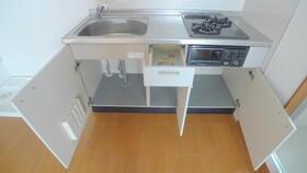 グレース西麻布 201号室のキッチン