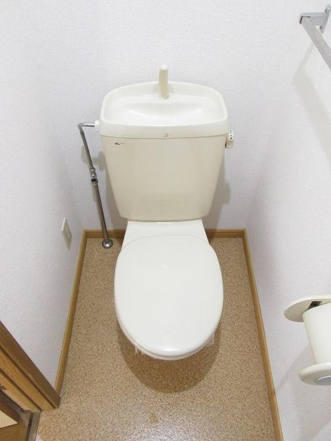 トゥルスⅠ 01010号室のトイレ