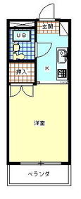 ラフィーネ昭島・110号室の間取り