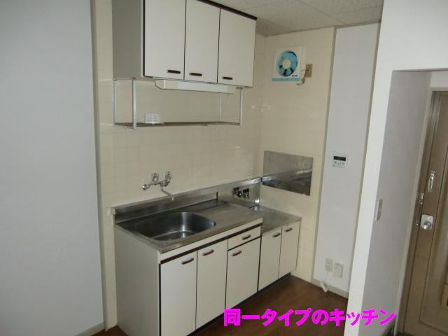エルディム小柳B 01030号室のキッチン