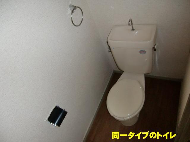 エルディム小柳B 01030号室のトイレ