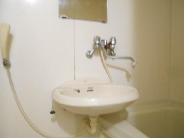 エルディム小柳B 01030号室の洗面所