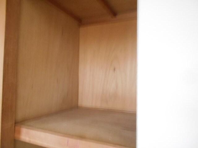 エルディム小柳B 01030号室の収納