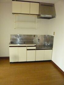 長瀬ビル 201号室のキッチン