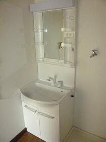 長瀬ビル 201号室の洗面所