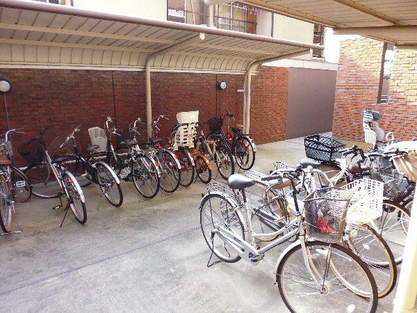 カサ・デ・高ノ手 501号室のバルコニー