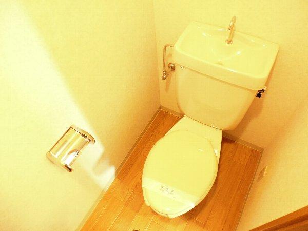 カサ・デ・高ノ手 501号室の洗面所