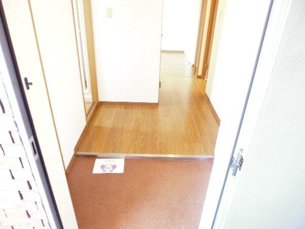 カサ・デ・高ノ手 501号室の玄関