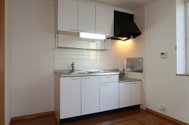 シャンドフルールH 01010号室のキッチン