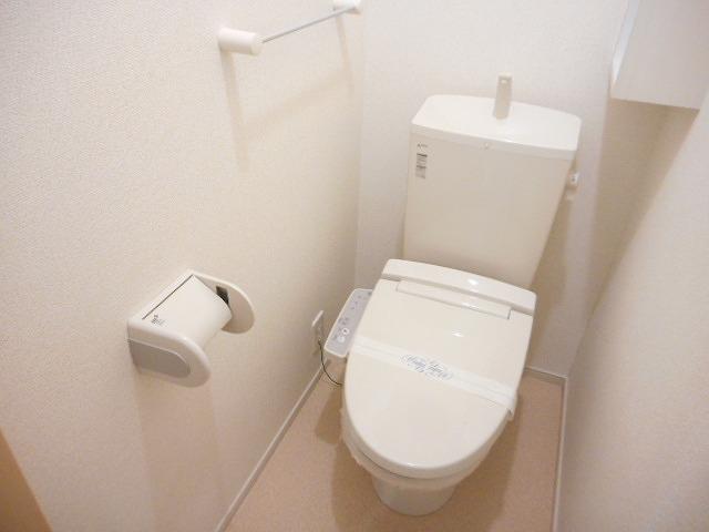 クローバーキャッスル 01020号室のトイレ