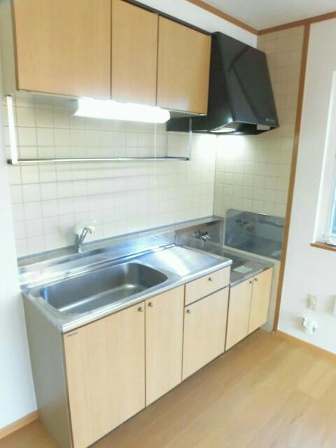 ムーミン村B 02020号室のキッチン