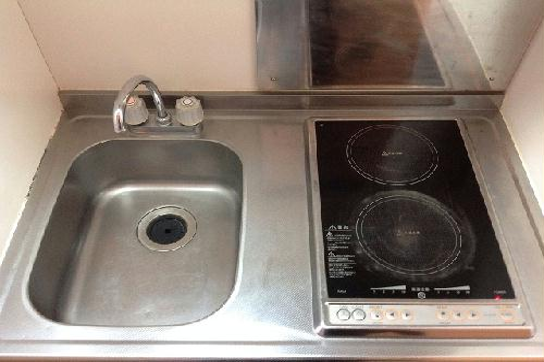 レオパレスMARINO 201号室のキッチン