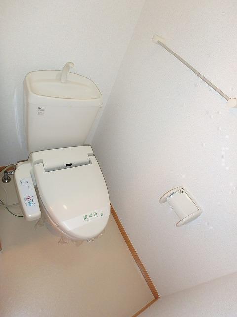 ヴァルトハウス 01040号室のトイレ