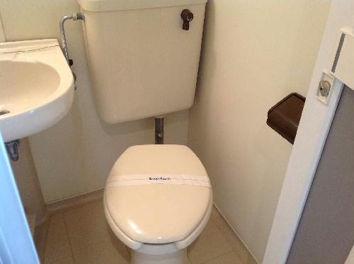 レオパレスキャリオカ 104号室のトイレ